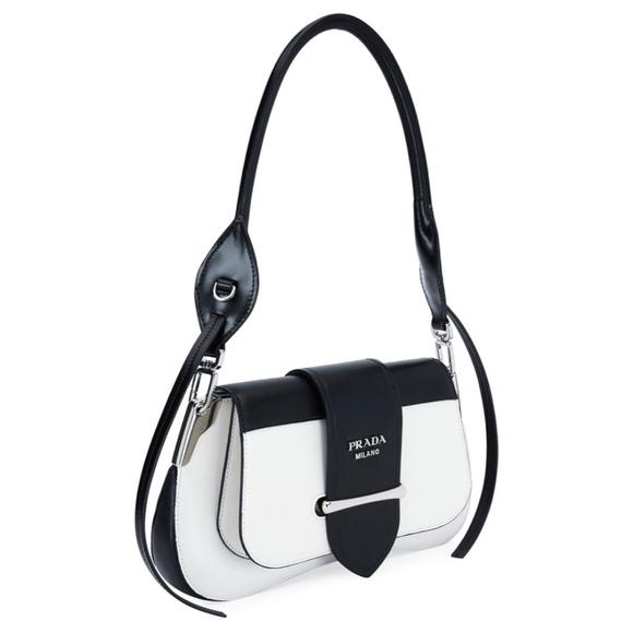66b0f7fe45 Authentic Prada Sidonie Leather Shoulder Bag. M_5be5fab93e0caae6752e97d5